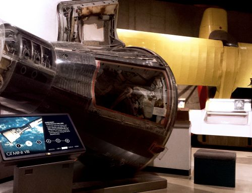 Armstrong Air & Space Museum – Gemini VIII Kiosk